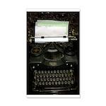 Vintage Typewriter Wall Sticker
