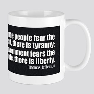 Jefferson Quote Liberty Mug