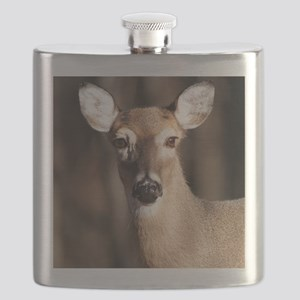 Whitetail Deer Doe Flask