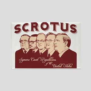 scrotus-LTT Rectangle Magnet