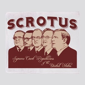 scrotus-LTT Throw Blanket