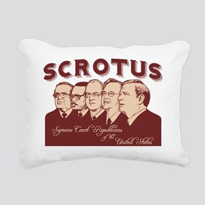 scrotus-LTT Rectangular Canvas Pillow