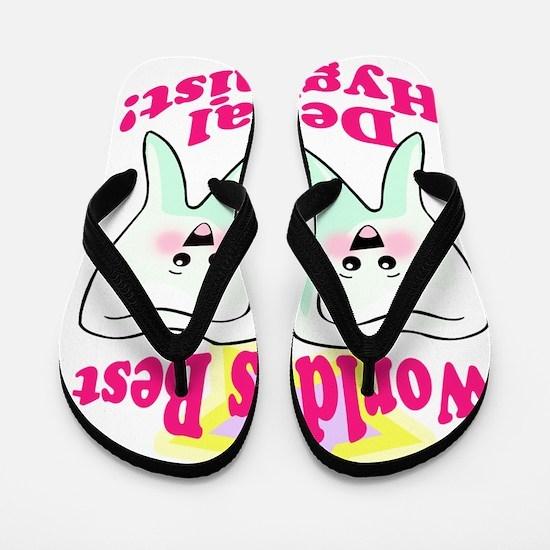 Worlds Best Dental Hygienist 2 Flip Flops