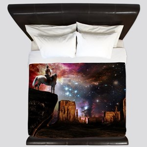 Native American Universe King Duvet Cover