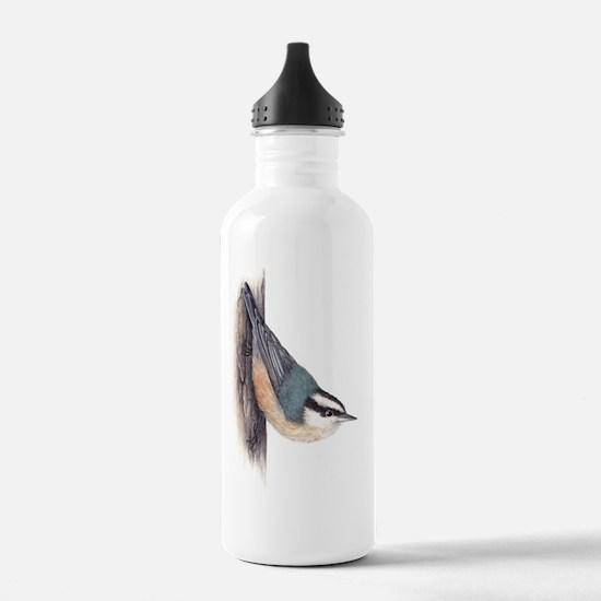 redbreastednuthatch Water Bottle