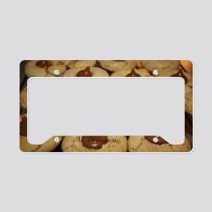 cookies License Plate Holder
