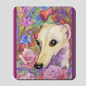 Shy flower Mousepad