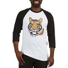 Tiger Face Baseball Jersey