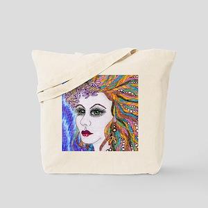 seraphina - mermaid - square Tote Bag