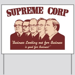 supreme-corp-LTT Yard Sign