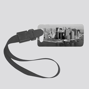 NYC_manhattan_14x6_print Small Luggage Tag