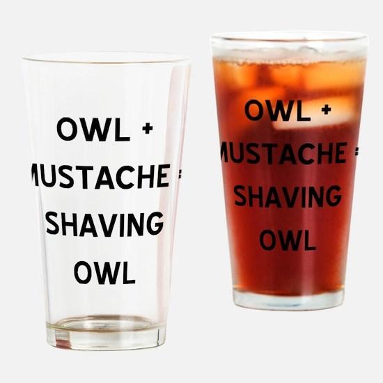 owl.gif Drinking Glass