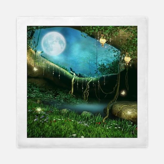 Enchanted Forest Queen Duvet Cover
