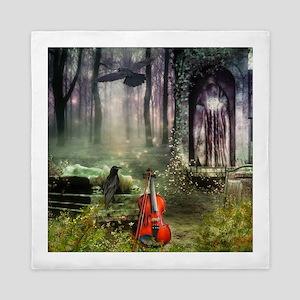 Gothic Dreamland Queen Duvet Cover