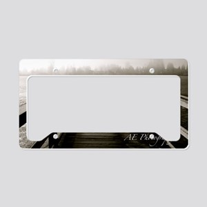 Mill Lake License Plate Holder