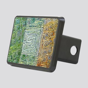 Siocahain (Peace)cardl Rectangular Hitch Cover