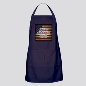 Jefferson Quote Democracy Apron (dark)