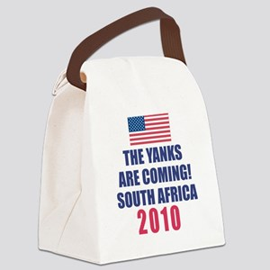yanks_coming_flag Canvas Lunch Bag