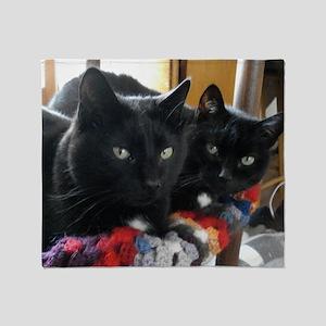 Q1 2010 Boy Kitties 002 Throw Blanket