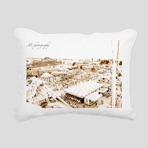 playland Rectangular Canvas Pillow