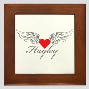 Angel Wings Hayley Framed Tile