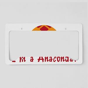 ANACONDA License Plate Holder