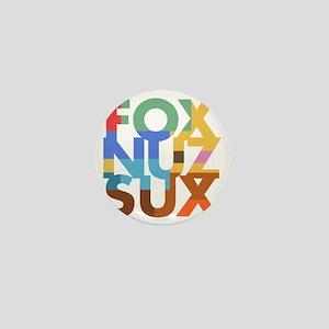 Fox_Nuz_Sux_2 Mini Button