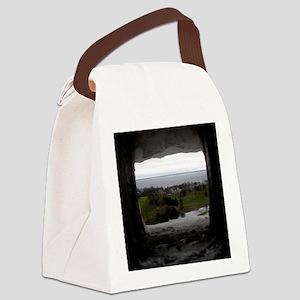 Mackinac Island Canvas Lunch Bag