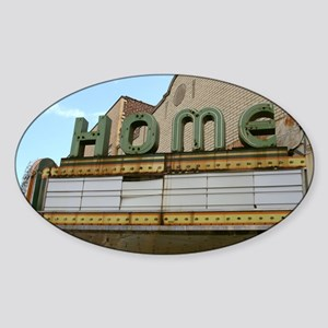 00_Rantoul_home1 Sticker (Oval)
