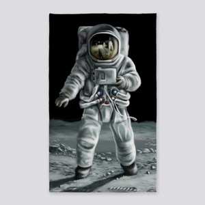 Moonwalker Astronaut Area Rug