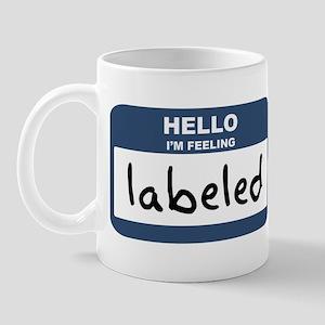 Feeling labeled Mug