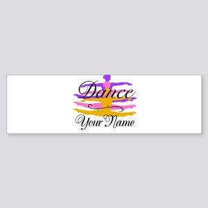 Dance Customizeable Bumper Sticker