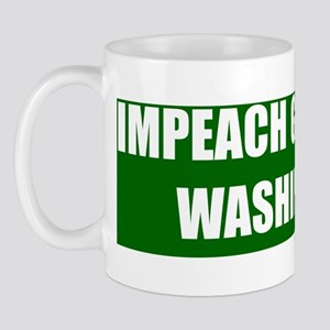 ART 10x3 sticker Impeach Washington Mug
