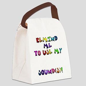 reminder4 Canvas Lunch Bag