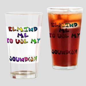reminder4 Drinking Glass