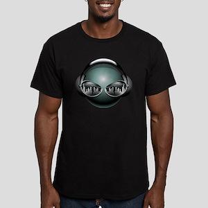 best dj Men's Fitted T-Shirt (dark)