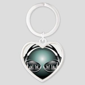 best dj Heart Keychain