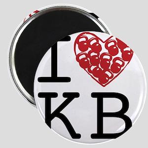 I Heart KB Magnet