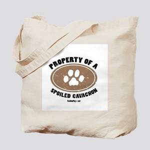 Cavachon dog Tote Bag