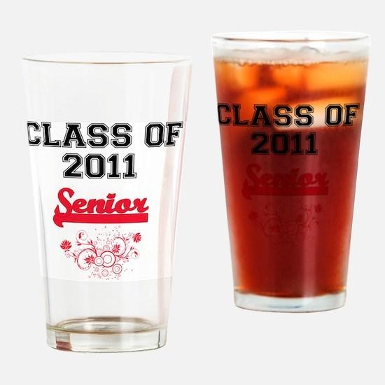 RedDesigndecorativeclass2011_10x10_ Drinking Glass