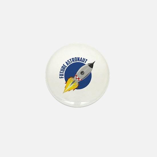Future Astronaut Mini Button