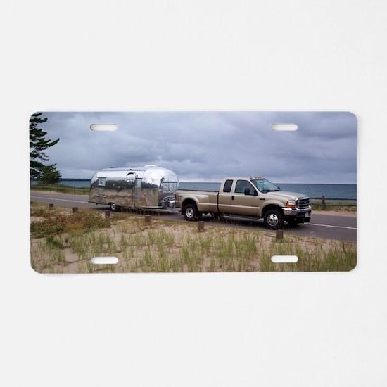 TRADEWINDBETTERLAKESUPERIOR Aluminum License Plate