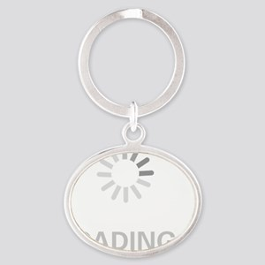 loading_circle Oval Keychain