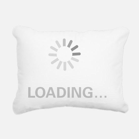 loading_circle Rectangular Canvas Pillow