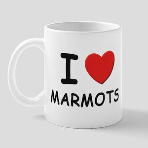 I love marmots Mug