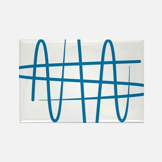 NWS_symbol_blue Rectangle Magnet