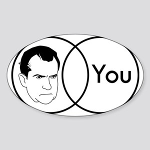 dick Sticker (Oval)