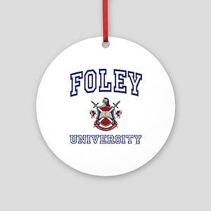 FOLEY University Ornament (Round)
