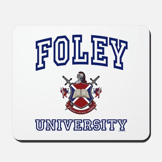 FOLEY University Mousepad