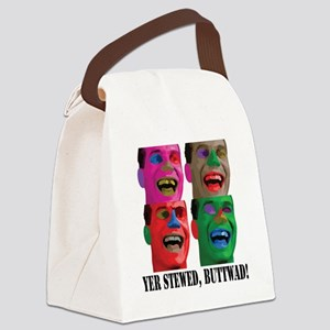 Stewed-Buttwad Canvas Lunch Bag